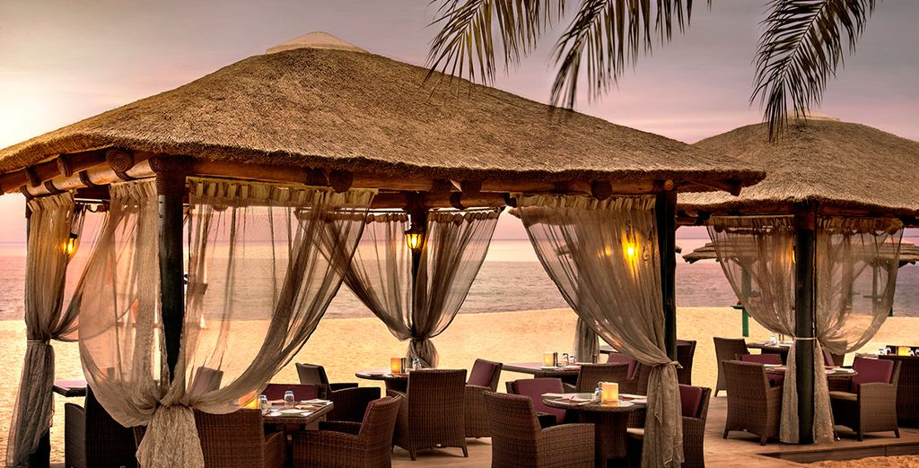 Dine by candlelight on the sands