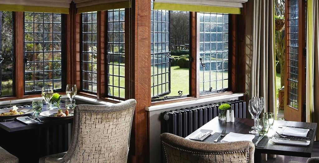 Feast on fresh seasonal cuisine at the Mulberry Restaurant