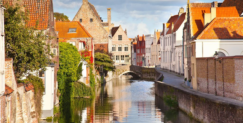 Then head out into the cobbled streets of Bruges