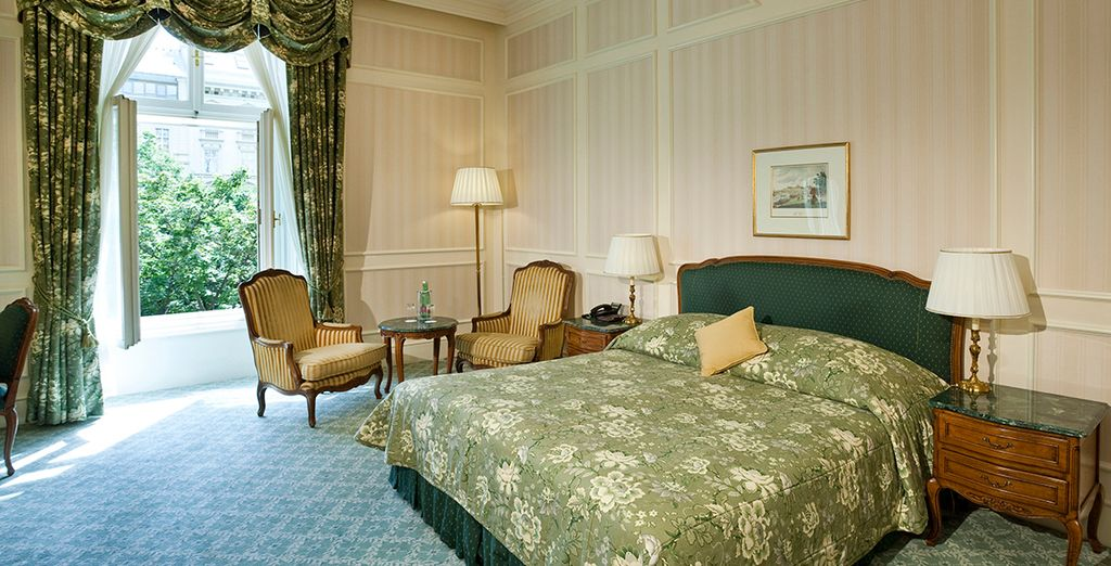 Our members can enjoy an upgrade to a Deluxe Room