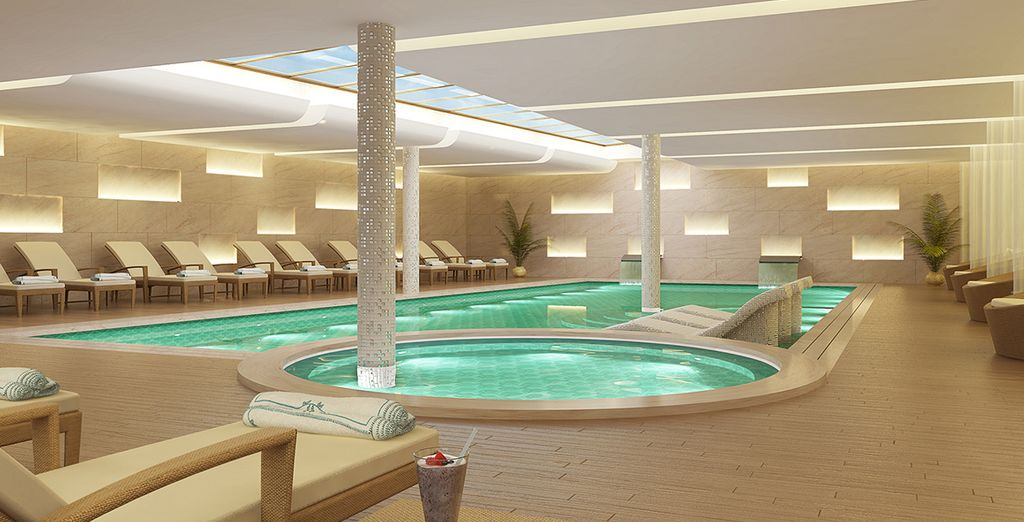 Relax in the hotel's spa after sightseeing