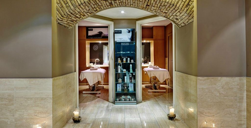 Unwind at the spa...