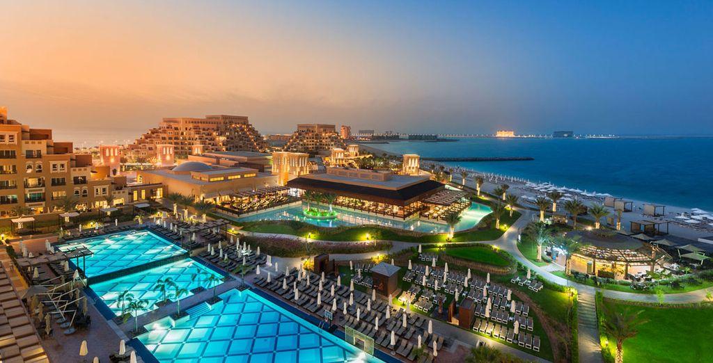 The dazzling 5* Rixos Bab Al Bahr - Rixos Bab Al Bahr Hotel 5* Ras Al Khaimah