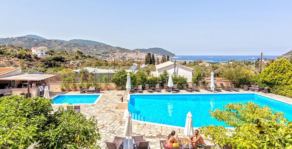 Sunshine and relaxation await... - Skopelos Hotel and Spa 5* Skopelos