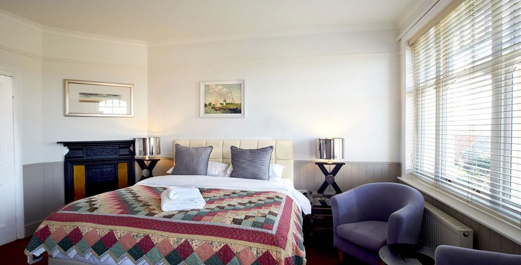 Take your pick between a Deluxe Room