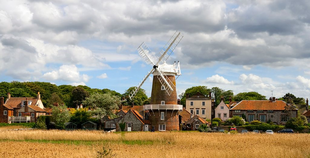 Located in Cley-next-the-sea