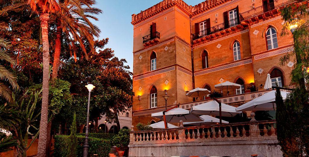 From the 5* Grand Hotel Villa Igiea - Grand Hotel Villa Igiea - MGallery by Sofitel 5* Palermo