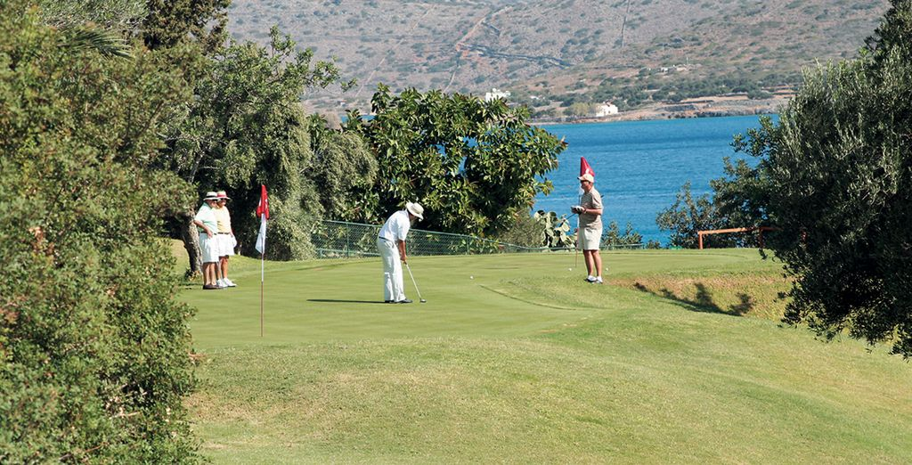 Get active with a round of golf