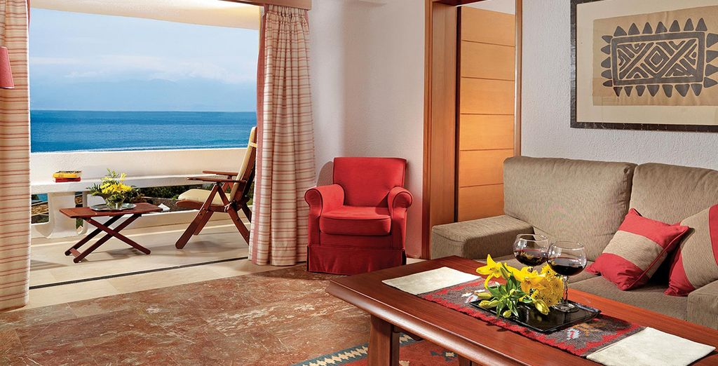 Or a Sea View Suite