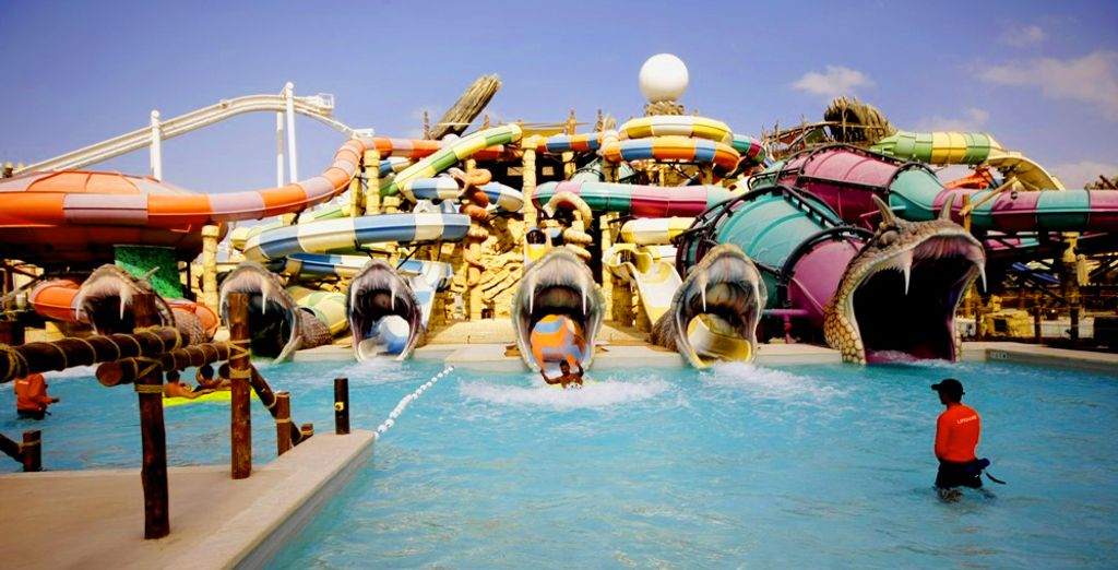 Release your inner child and head to the waterpark!
