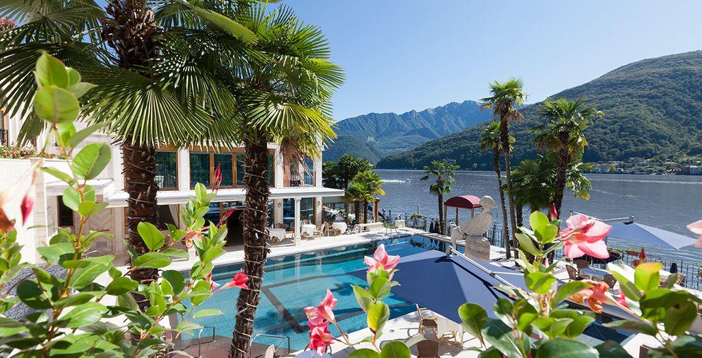 Luxury Lakeside Spa Hotel - Swiss Diamond Hotel 5* Lugano
