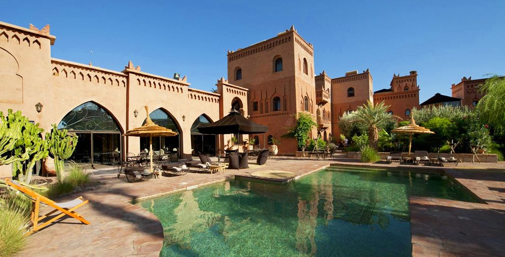 Moving on to the luxury of Ksar Ighnda the following night
