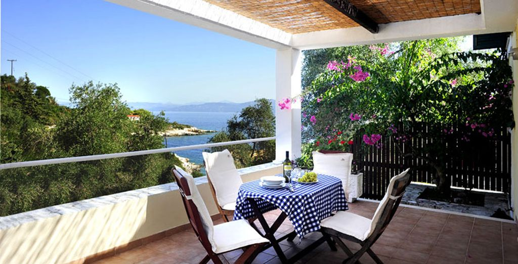Gaze out to the sea - Kantada Villas Paxos