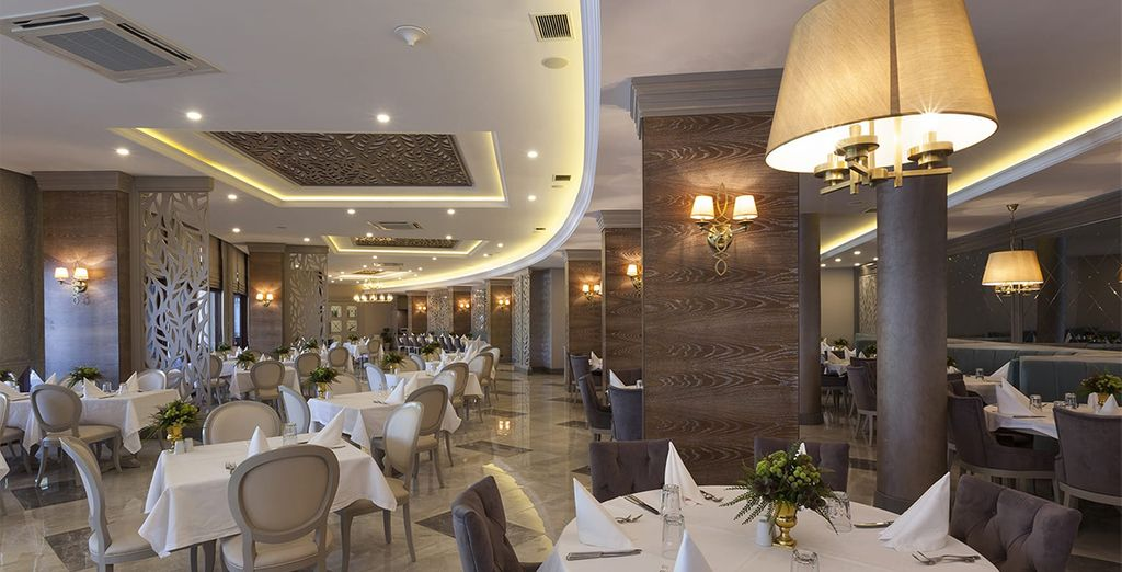 Dine in the restaurant