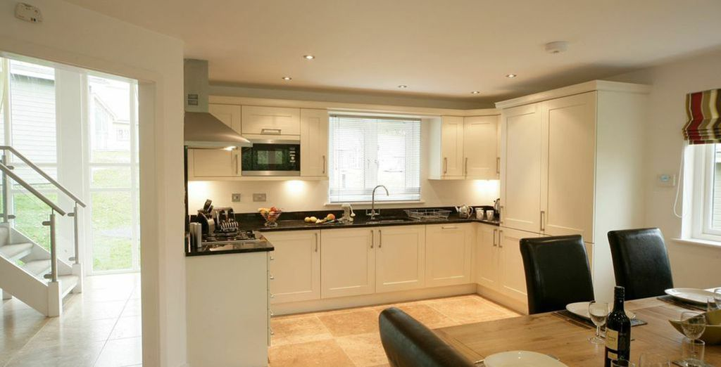 Enjoy cooking in these stylish kitchens