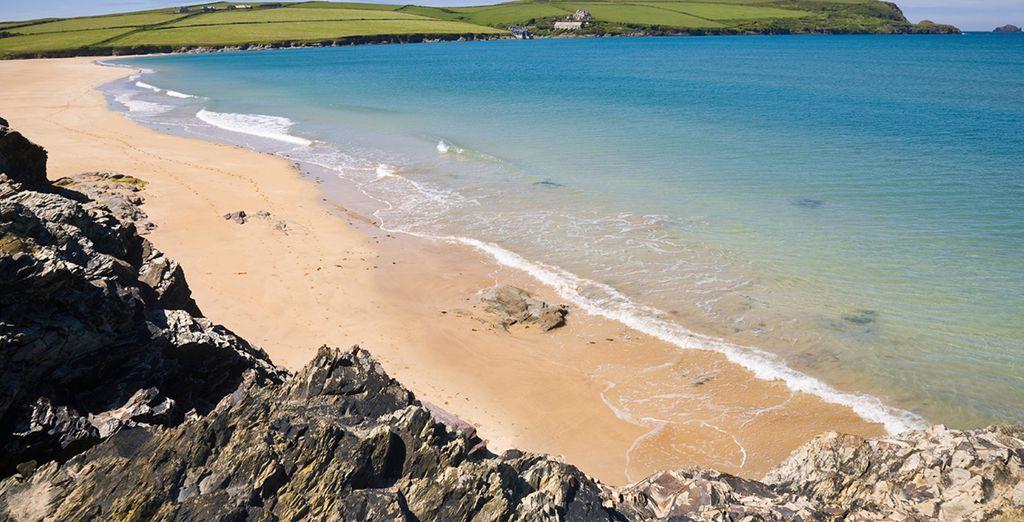 With beautiful Cornish beaches