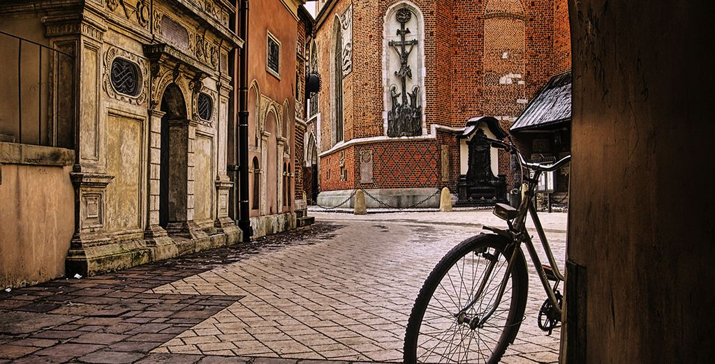 Then head out into the quaint streets