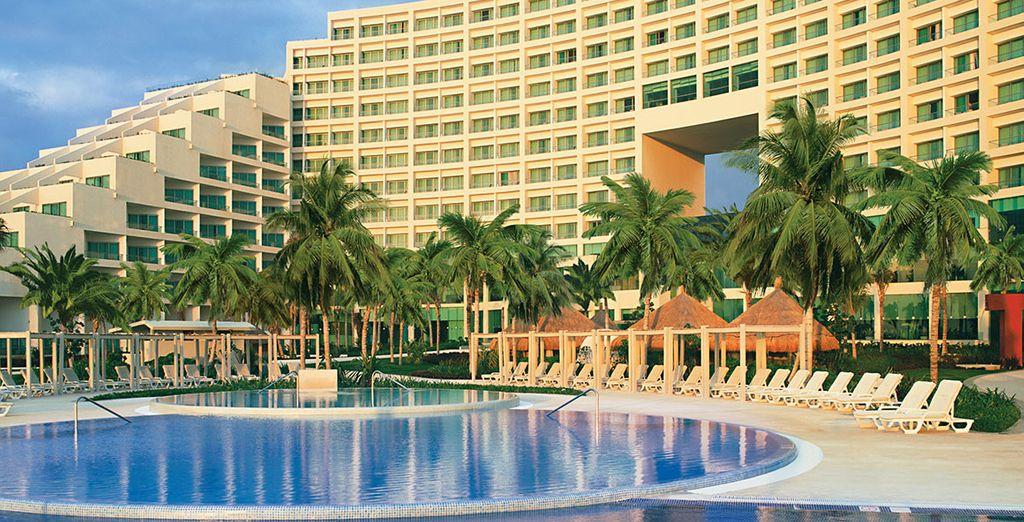 At the 5* Live Aqua Cancun