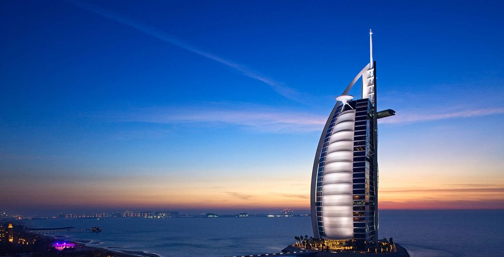Take in the sights of Dubai