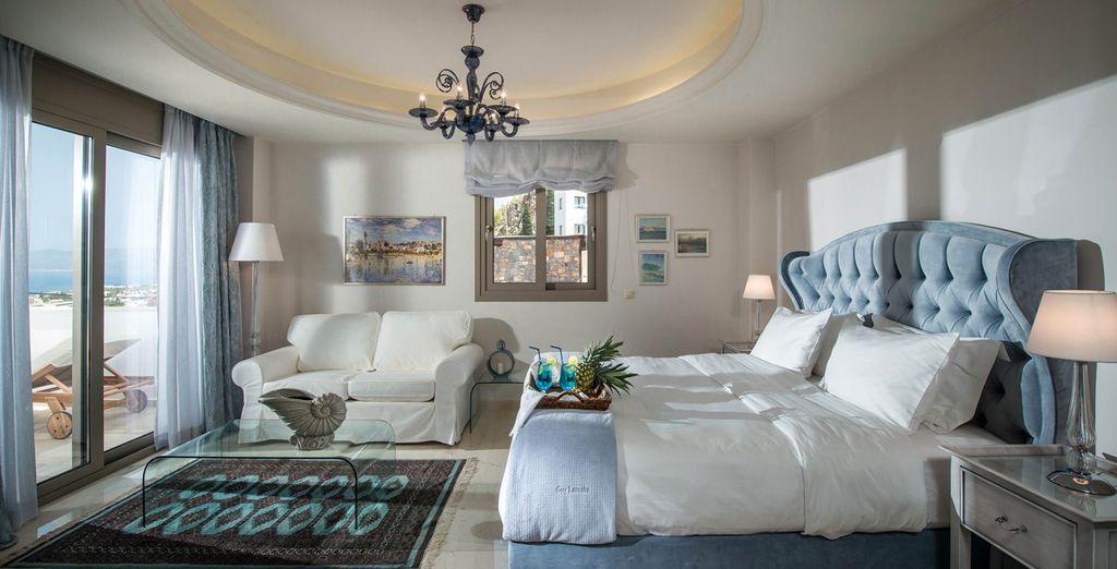 Or chooose a Luxury Spa Suite