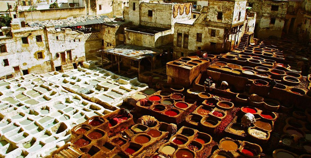 With its leather tanneries