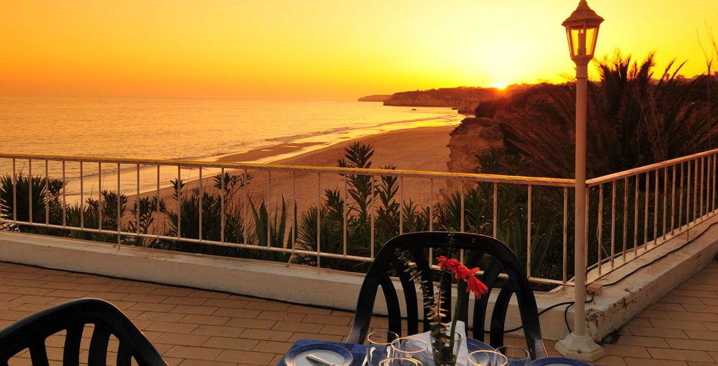 Return to your hotel to watch the sun set from the terrace