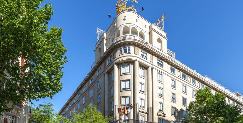At the heart of the chic Salamanca