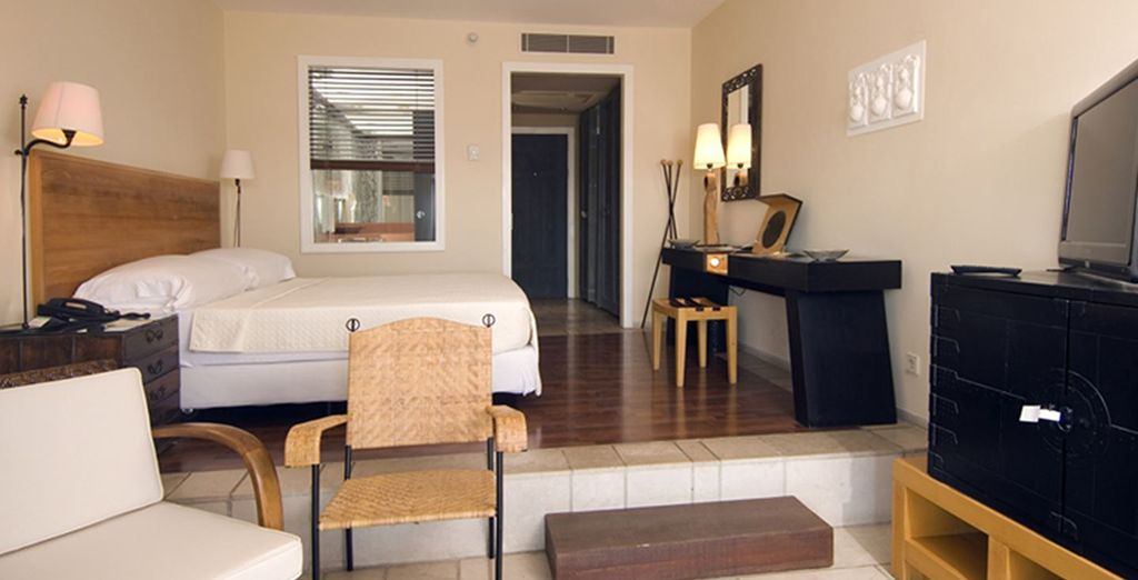 Where our members can enjoy a chic and modern room