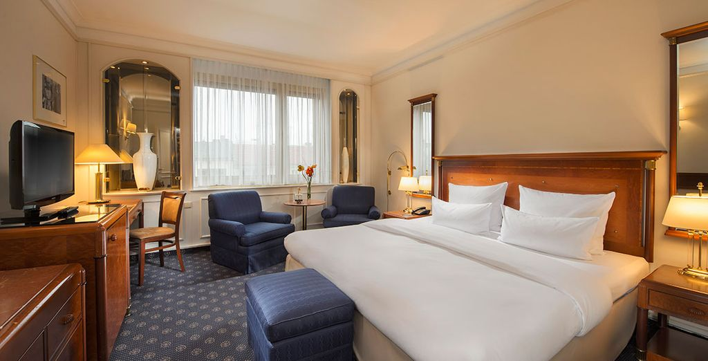 Relax in comfort in your Superior Room