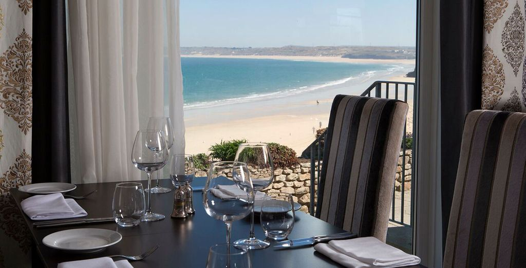 So dine with a view
