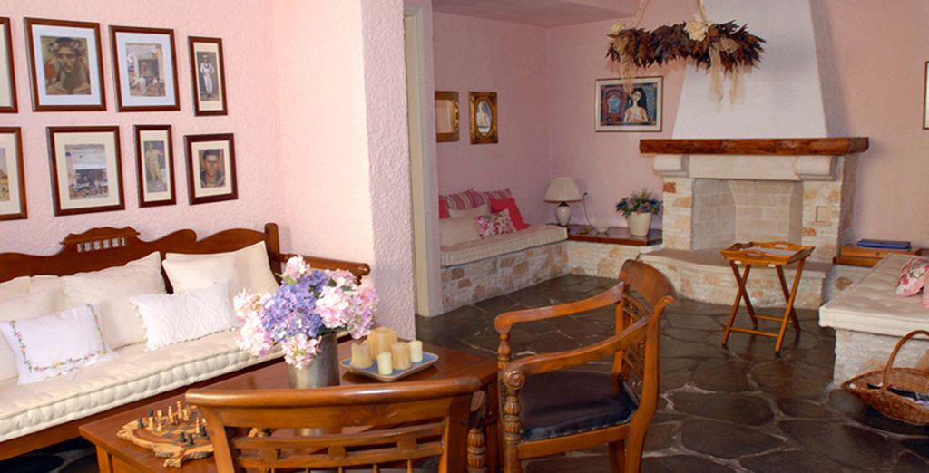 Decorated to create a homely atmosphere