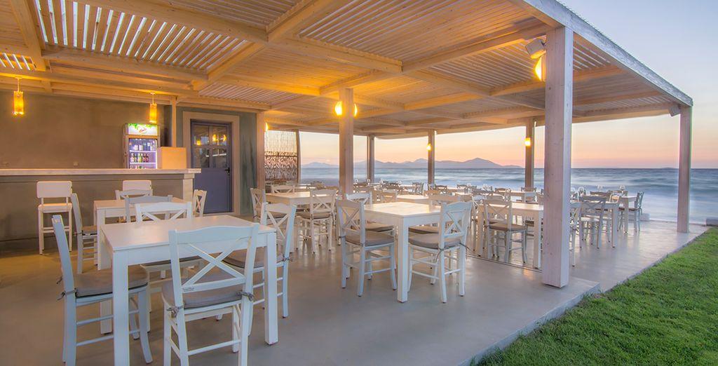 Dine in an idyllic location