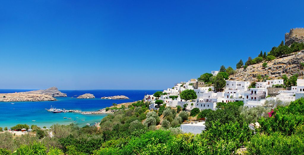 Set out to explore pretty island of Rhodes