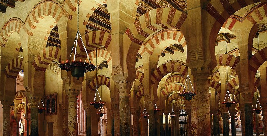 Visit the stunning Mezquita Cathedral