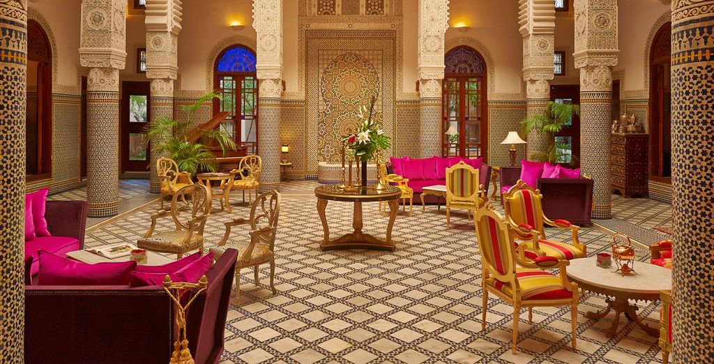 Welcome to the spectacular Relais & Chateaux Riad Fes