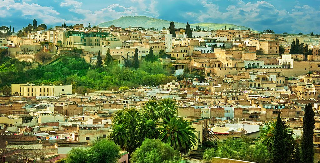In the heart of an ancient Moroccan city
