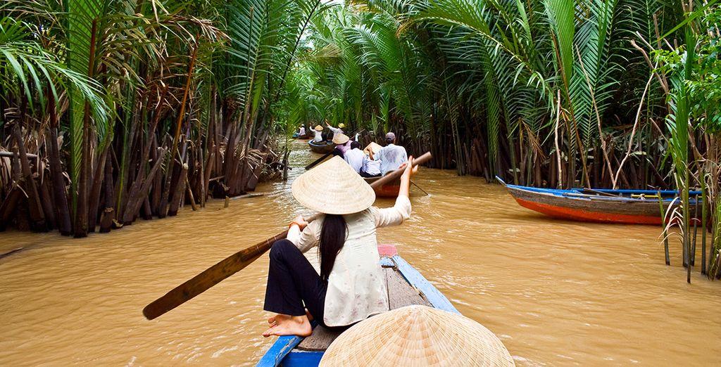 Sail through the Mekong Delta...