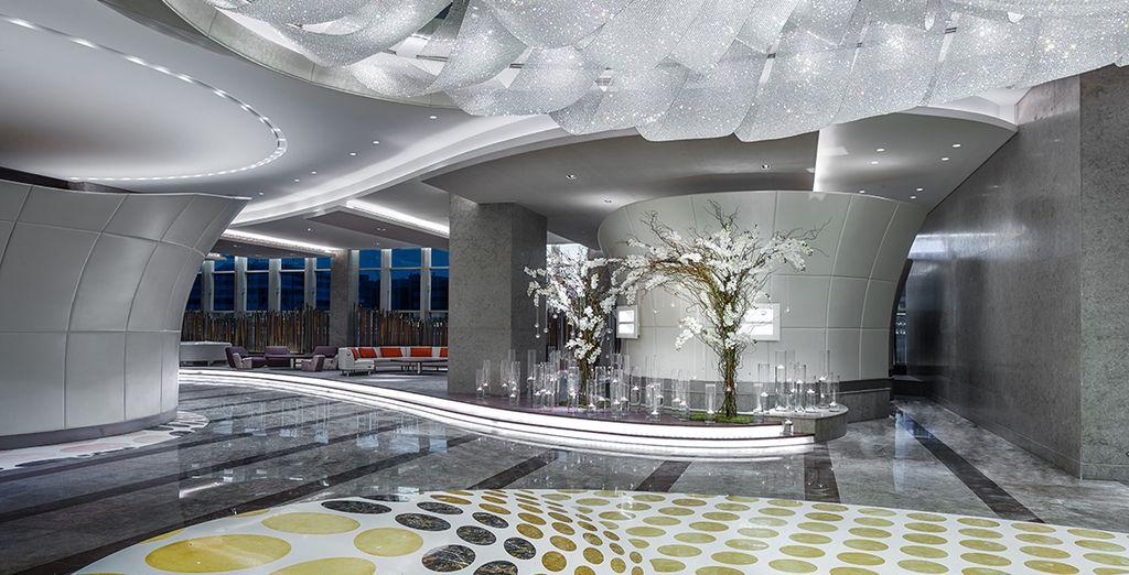 An ultra-modern, ultra-luxurious property