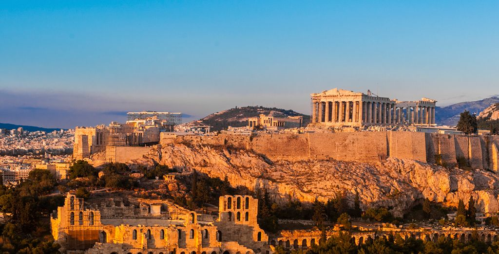 Discover ancient history in Greece's captivating capital.... - Greek Island Hopping 4* Fira