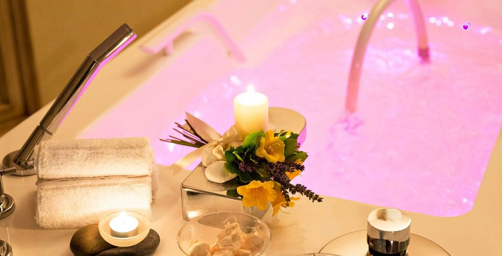 Indulge in relaxing treatments