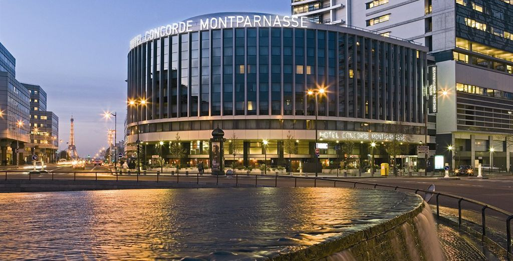 Experience it with a stay at the  Hotel Catalogne Paris Gare Montparnasse