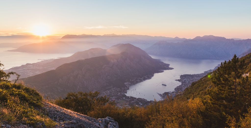 The Bay of Kotor is sublime