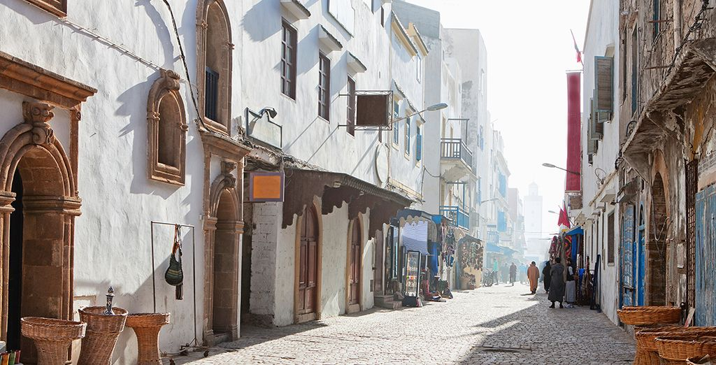 Situated on the winding streets of Essaouira