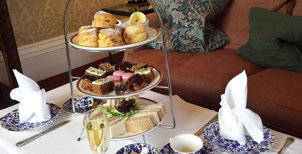 Enjoy a quintessential afternoon tea