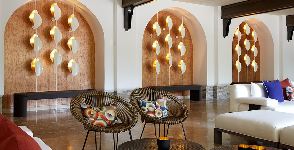 This stylish boutique resort is one the 'Small Luxury Hotels of the World'