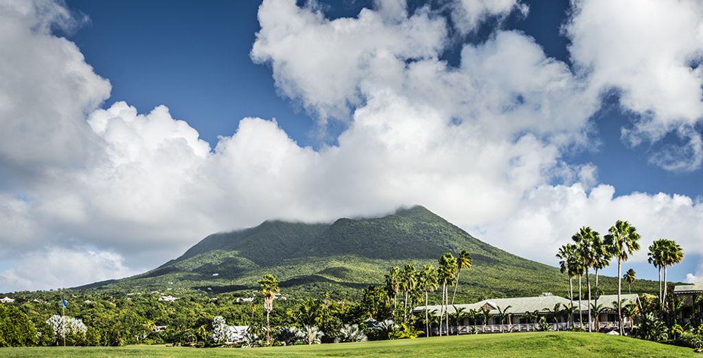 Such as the stunning Nevis Peak