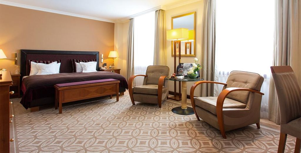 Where our members can enjoy a spacious Superior Room