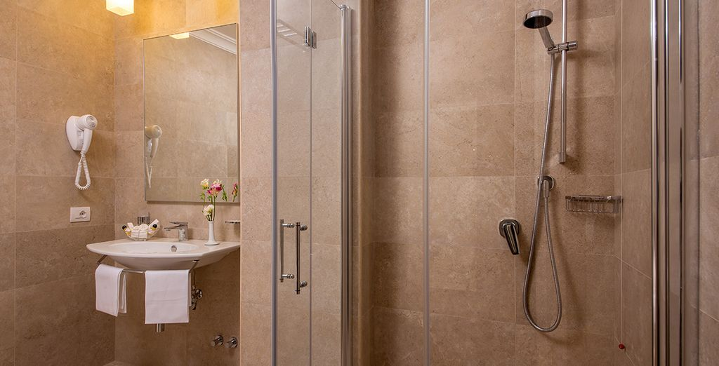A modern ensuite completes your comfort
