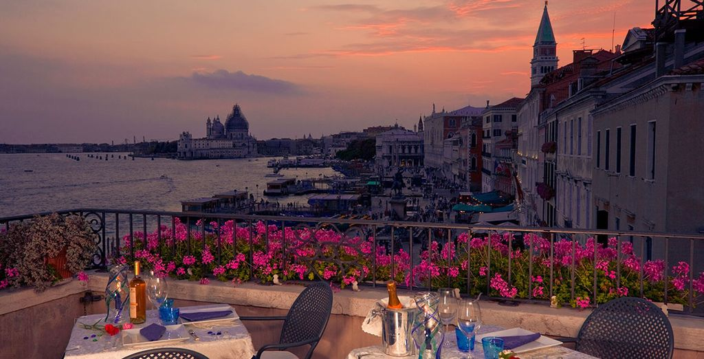 With an amazing roof top terrace