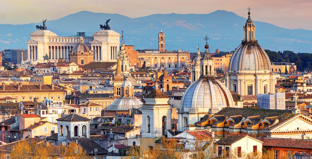 Head into Rome and discover the magnificent sites